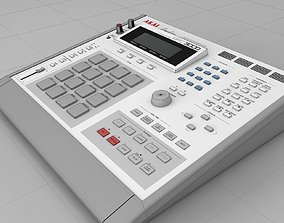Akai MPC 3000 audio 3D model