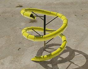 Water Slide 3D asset realtime