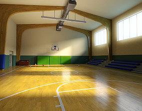 3D model Basketball hall