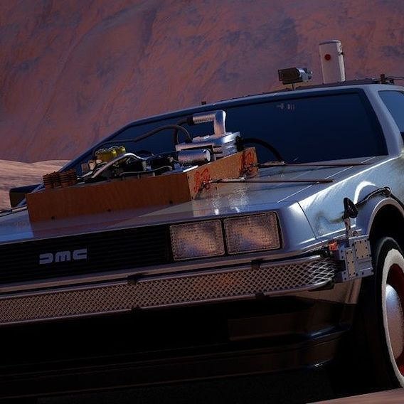 Delorean III WIP and closer details