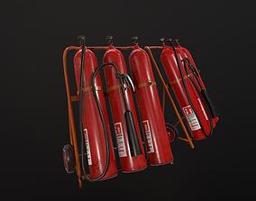 3D asset realtime Extinguisher