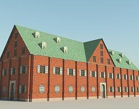 3D 17th Century Warehouse
