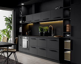 IKEA Kitchen Scene 3D model
