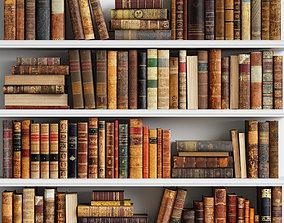 Classic Books 10 3D model