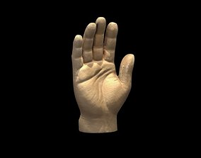 RUBBER Toy Hand 3D Scan 3dscanned