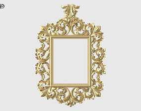 3D print model Baroque Mirror Frame