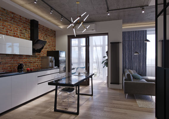 The project of an apartment in Rostov-on-Don.