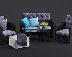 Outdoor furnitures 13 3D