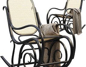 3D model Schaukelstuhl Lounge Chair