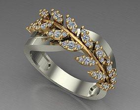 fashion ring teenage 3D print model