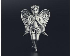 creature 3D print model Angel