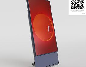 Samsung The Sero 4K Smart tv 2020 3D asset