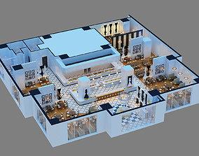 3D Models Chess Restaurant