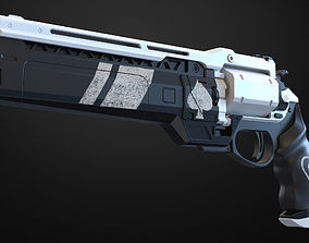 Ace of spades Hand cannon - 3D print model