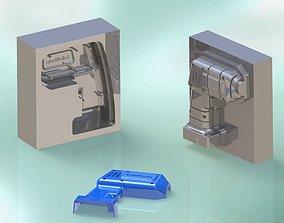 3D Mold of Plastic Bezel of Cordless Drill