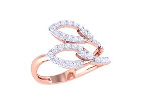 3D printable model ring diamond IF-82