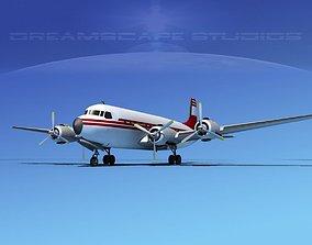 3D model Douglas DC-7B Corporate 4