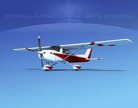 Cessna C152 Aerobat V10 3D model