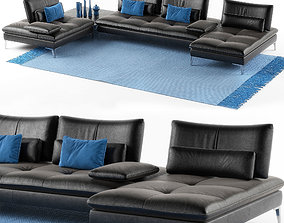 3D Roche Bobois Sofa Scenario set