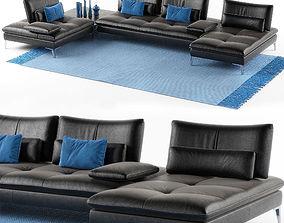 Roche Bobois Sofa Scenario set 3D