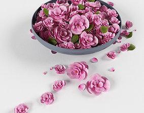 3D Platter flowers