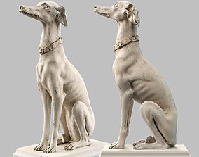 3D asset Roberto Giovannini Gray Hound LowPoly