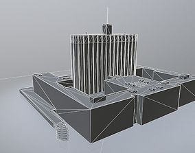 Moscow White House 3D model