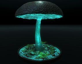 3D model realtime Big Mushroom