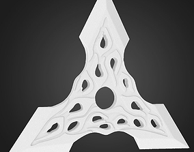 Shuriken STL 3d model for 3d printing 3D print model