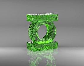 Green Lantern Logo Emblem Symbol OA Hal 3D printable model