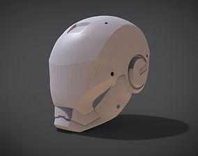 3D printable model Helmet Iron man futuristic