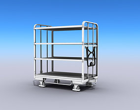 3D model Transport Cart storage