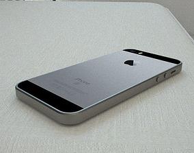 iPhone SE 3D asset