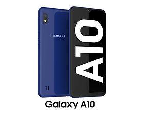 telephone 3D Samsung Galaxy A10 Blue
