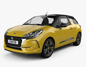 3D DS3 Chic Cabriolet 2016