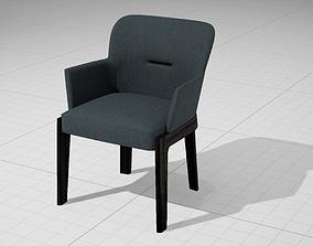 3D model MolteniC Chelsea Armchair UE4