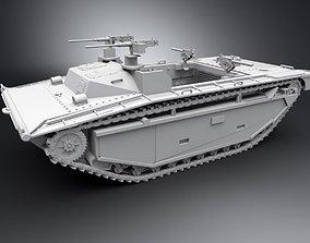 apc LVT2 Amtrack Scale model