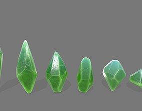 other 3D model realtime crystal set