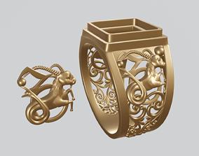 3D print model Capricorn zodiac sign