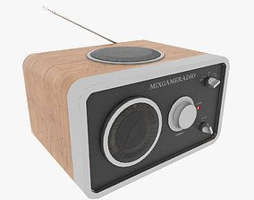 3D asset Radio receiver
