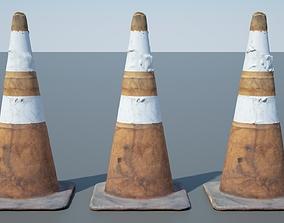 Traffic Cone - 01 3D