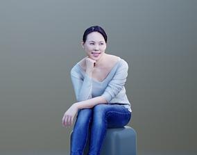 3D model Bao 10005 - Sitting Casual Girl