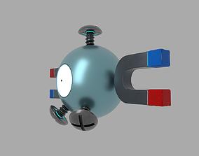 Pokemon Magnemite 3D model realtime