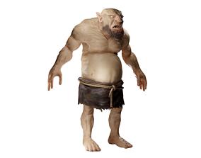Ogre creature 3D