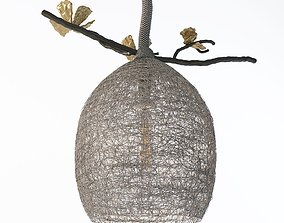 Cocoon Pendant Lamp Small 3D