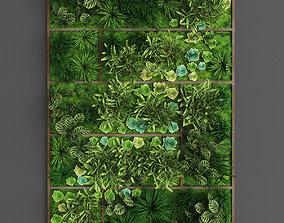 Vertical gardening 010 3D asset