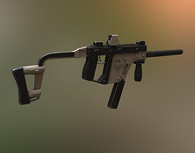 Kriss Vector assault 3D