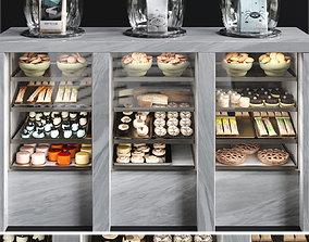 3D model Dessert fridge