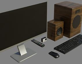 Electronics small pack 3D asset