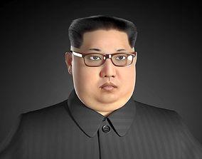 3D model Kim Dzong Un Realistic